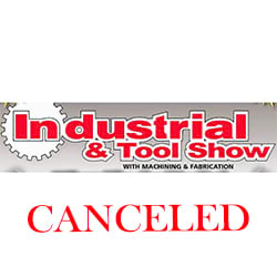 Industrial & Tool Show – October 9-10, 2019 – CANCELED